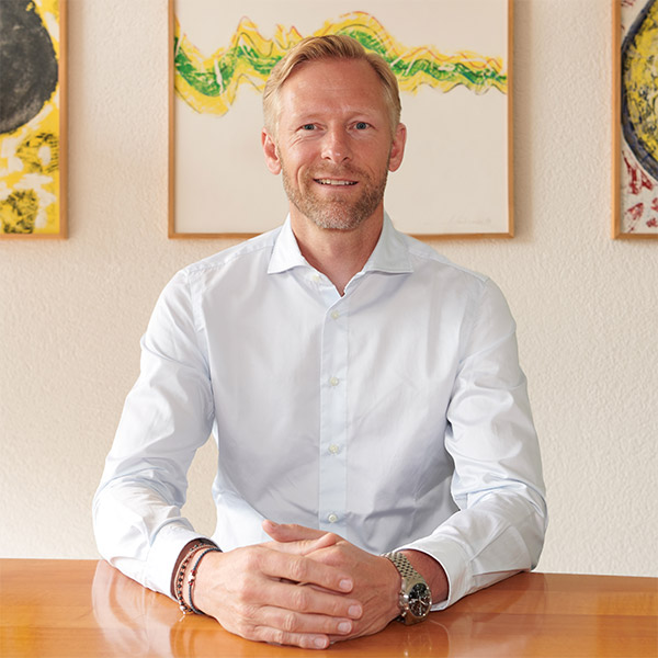 Stefan Intemann, Chief Executive Officer